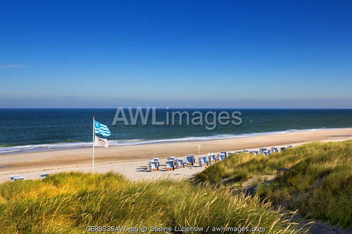 Beach, Kampen, Sylt Island, Northern Frisia, Schleswig-Holstein, Germany