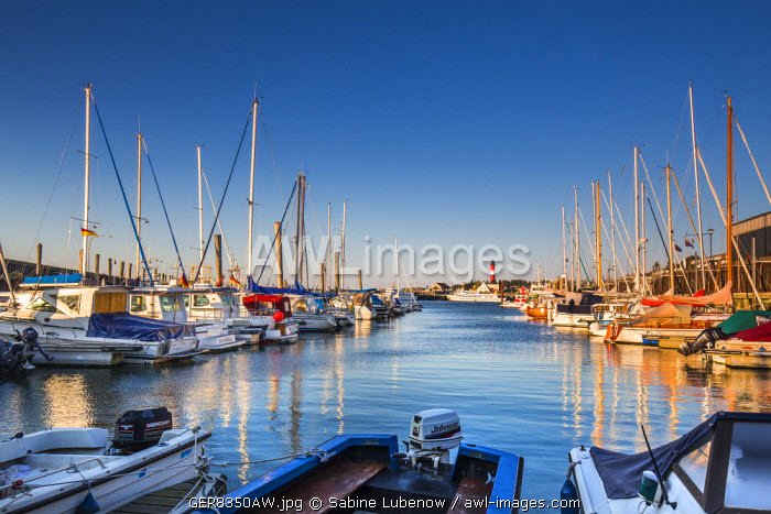 Marina, Hörnum, Sylt Island, Northern Frisia, Schleswig-Holstein, Germany