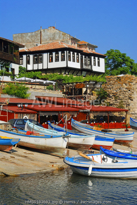 Bulgaria, Black Sea region, Nessebar listed as World Heritage by UNESCO