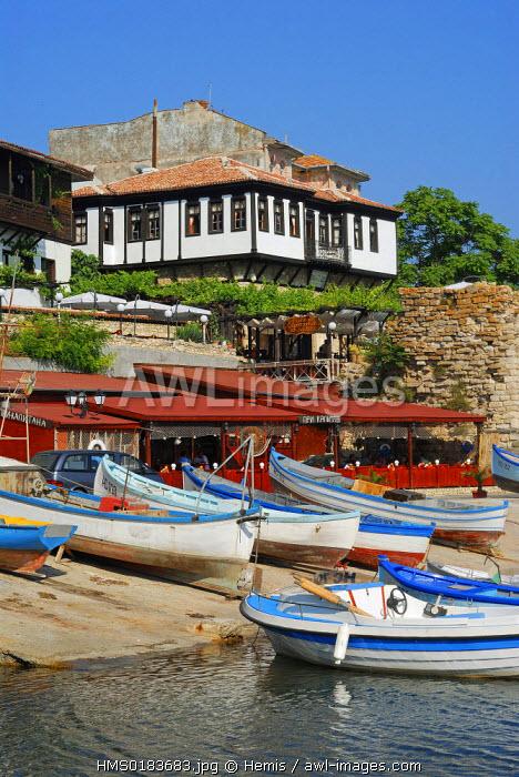 Bulgaria, Black Sea region, Nessebar listed as World Heritage by UNESCO
