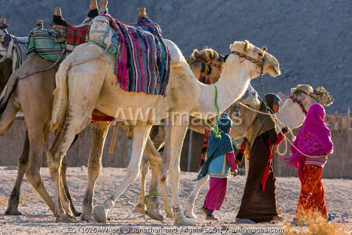 North Africa, Egypt, Hurghada, Eastern Desert Mountain Range.