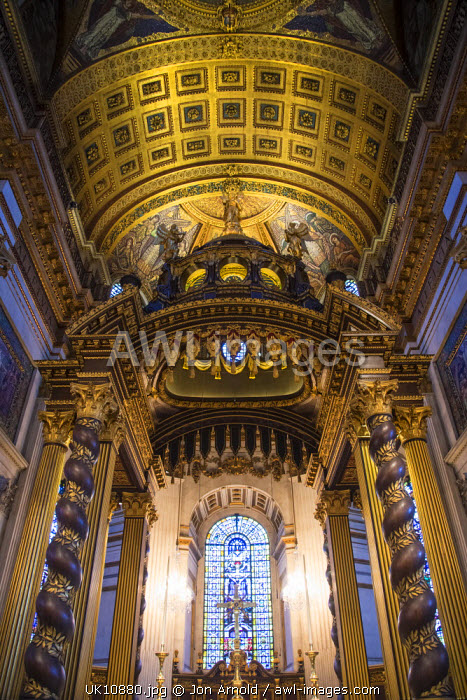 High Altar, St. Paul's Cathedral, London, England