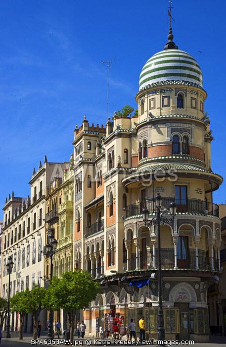 Avenue de la Constitucion, Seville, Andalusia, Spain