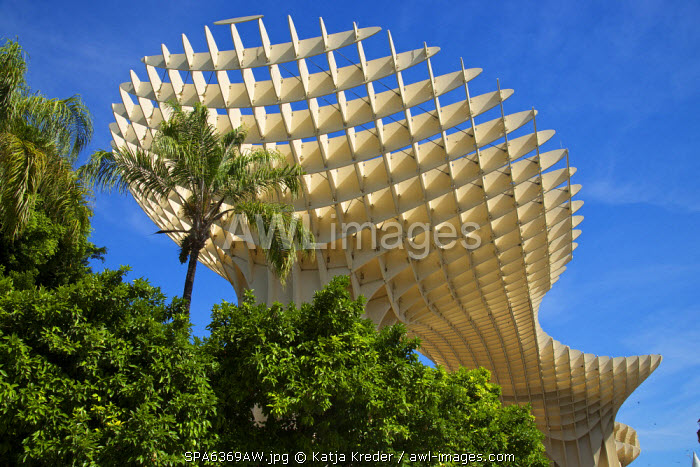 Metrosol Parasol, Plaza de la Encarnacion,  Seville, Andalusia, Spain