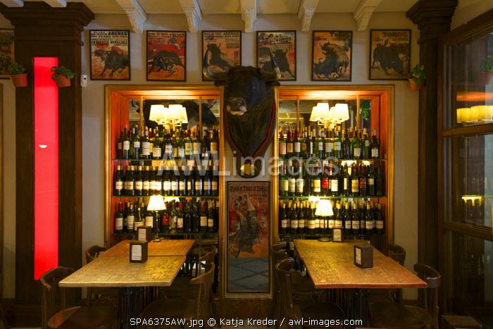Cerveceria Catedral, Barrio de Santa Cruz,  Seville, Andalusia, Spain