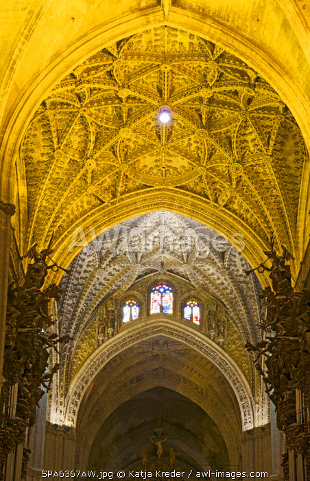 La Giralda Cathedral, Seville, Andalusia, Spain