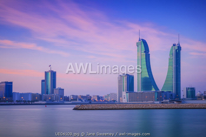 Bahrain, Manama, Bahrain Financial Harbour, Harbour Towers