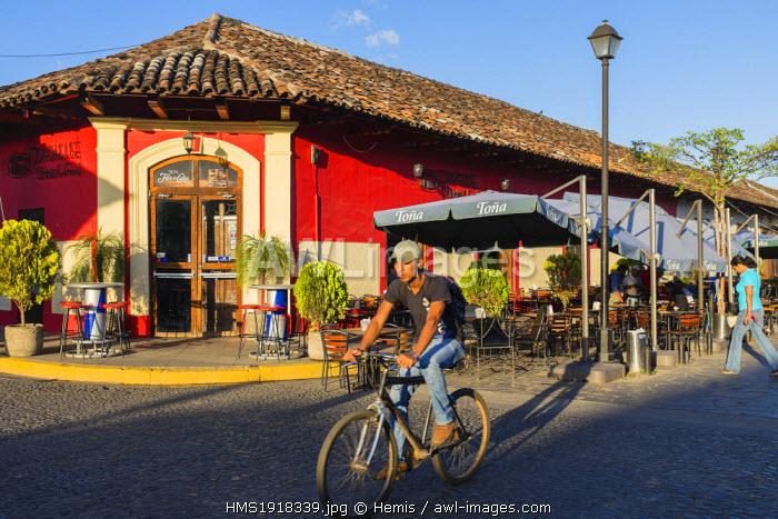 Nicaragua, Granada department, Granada, calle La Calzada