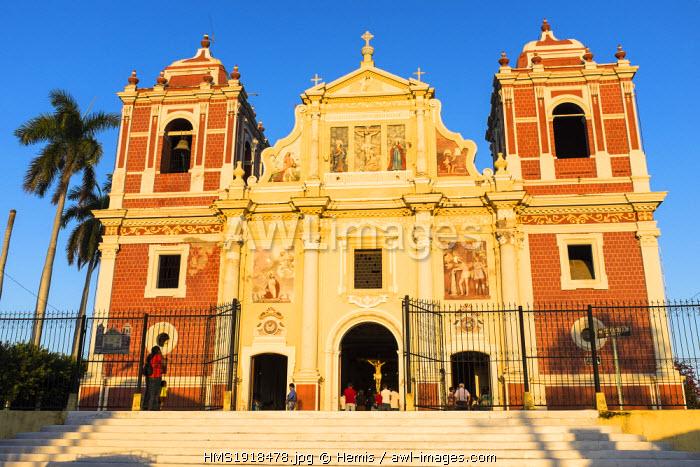 Nicaragua, Leon department, Leon, the church El Calvario, Baroque and Neoclassicism style