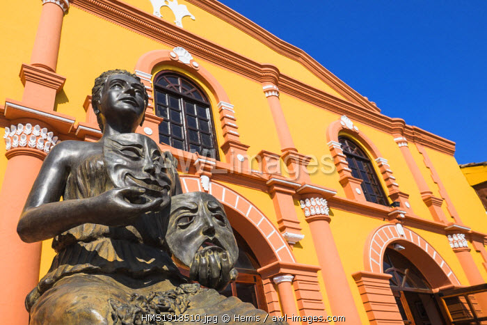 Nicaragua, Leon department, Leon, the municipal theater built in 1884 was the first theater in Nicaragua