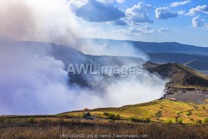 Nicaragua, Masaya departement, Masaya, National Park of Volcano Masaya, Santiago crater
