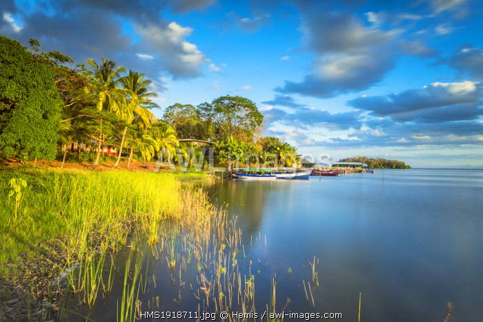 Nicaragua, Rio San Juan department, Solentiname islands, towards the southern end of Lake Nicaragua, San Fernando island