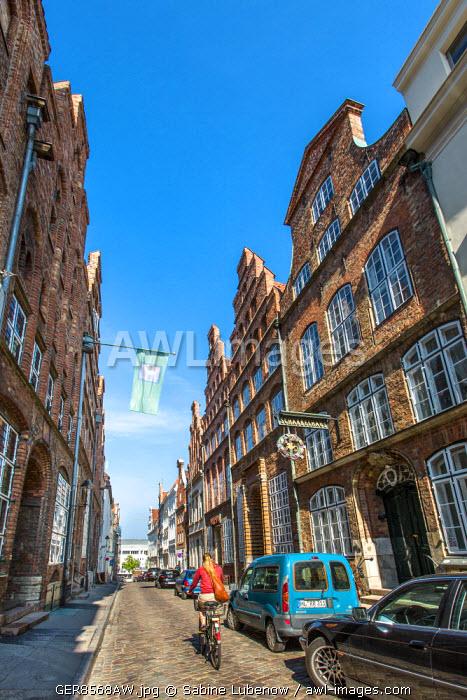 Old town, Lübeck, Baltic coast, Schleswig-Holstein, Germany