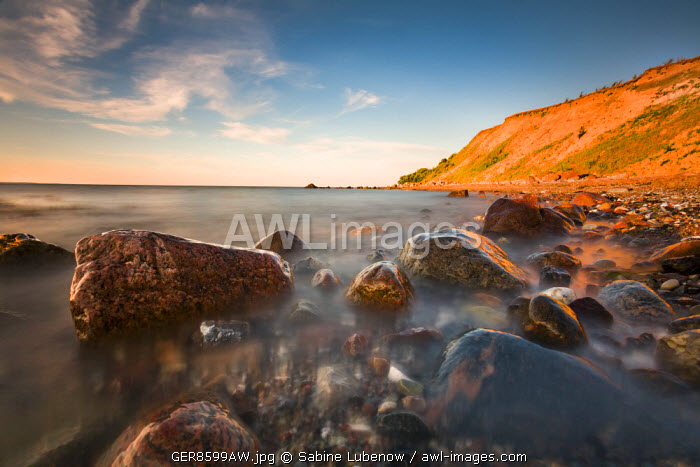 Cliff Brodtener Ufer, Niendorf, Baltic coast, Schleswig-Holstein, Germany