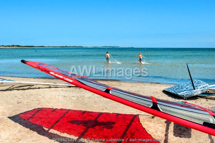 Beach, Fehmarn island, Baltic coast, Schleswig-Holstein, Germany