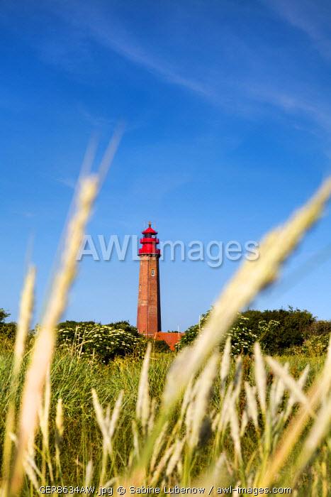 Lighthouse, Flügge, Fehmarn island, Baltic coast, Schleswig-Holstein, Germany
