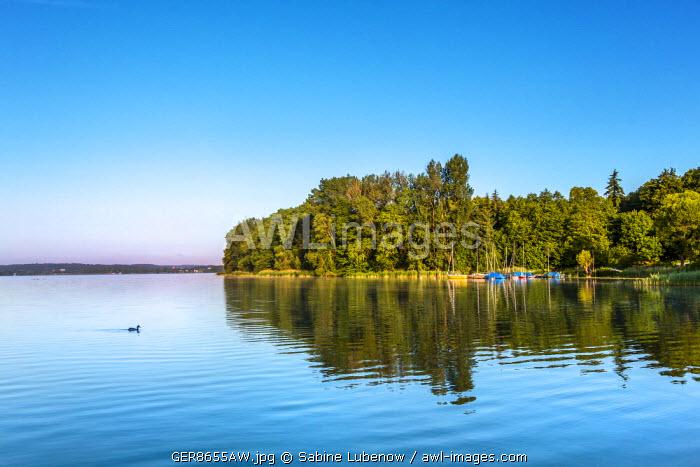 Keller lake, Holsteinische Schweiz, Baltic coast, Schleswig-Holstein, Germany