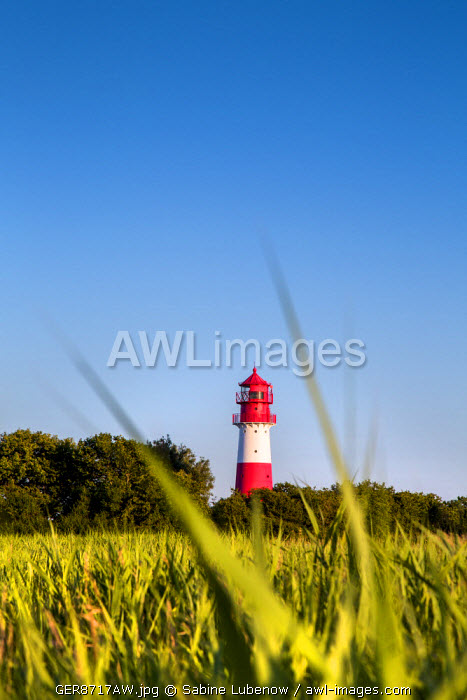 Lighthouse, Falshöft, Baltic coast, Schleswig-Holstein, Germany