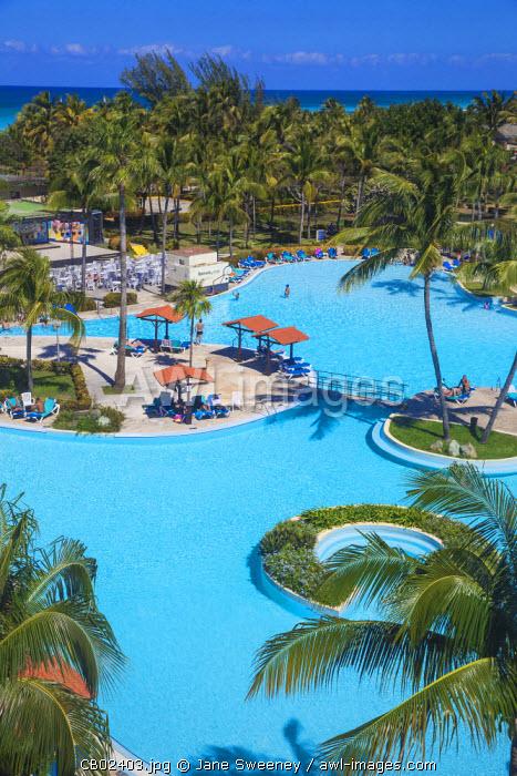 Cuba, Varadero, Varadero beach, Hotel swimming pool