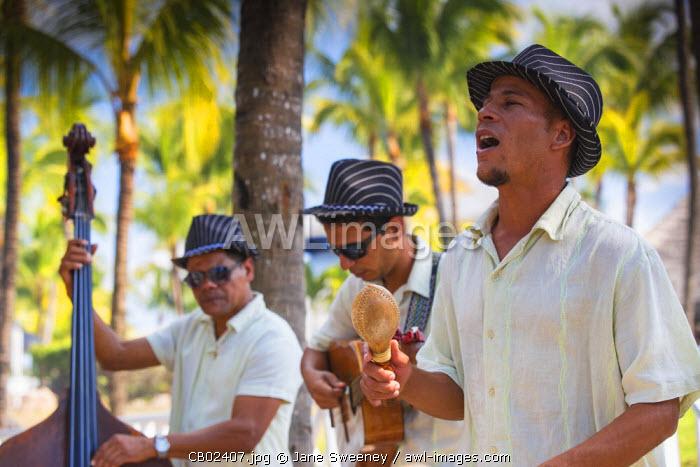 Cuba, Varadero, Musicians at Paradisus Hotel
