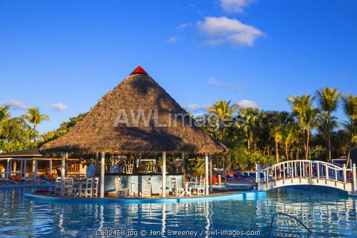 Cuba, Varadero, Varadero beach, Swimming pool at the Sol Palmeras Hotel