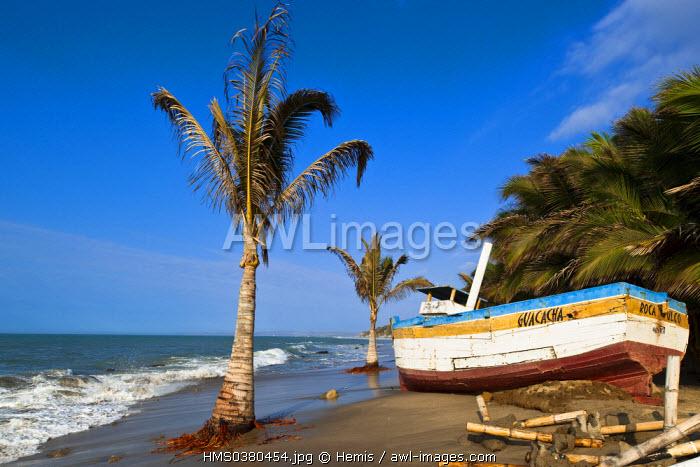 Peru, Piura Province, Mancora, Las Pocitas Beach