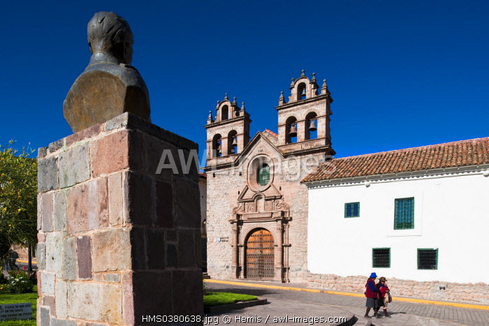 Peru, Cuzco Province, Cuzco, listed as World Heritage by UNESCO, Plaza de las Nazarenas