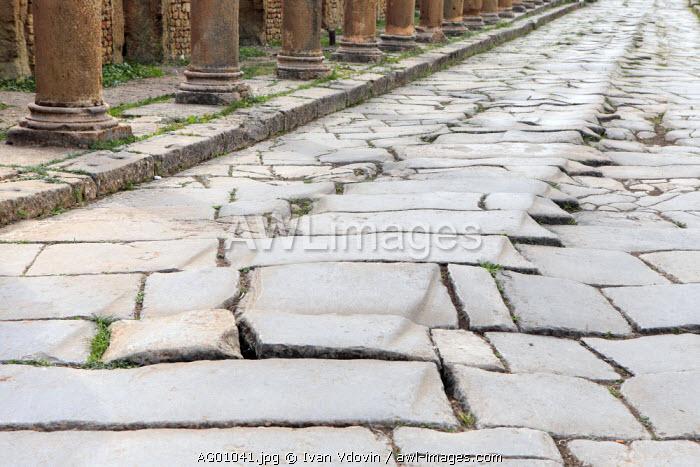 Ancient Roman city (2-3rd centuries), Timgad, Batna Province, Algeria
