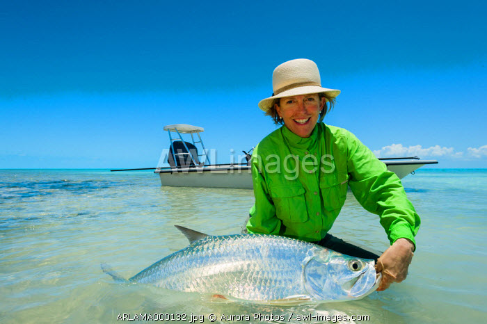 Fly fishing for Tarpon in the Bahamas