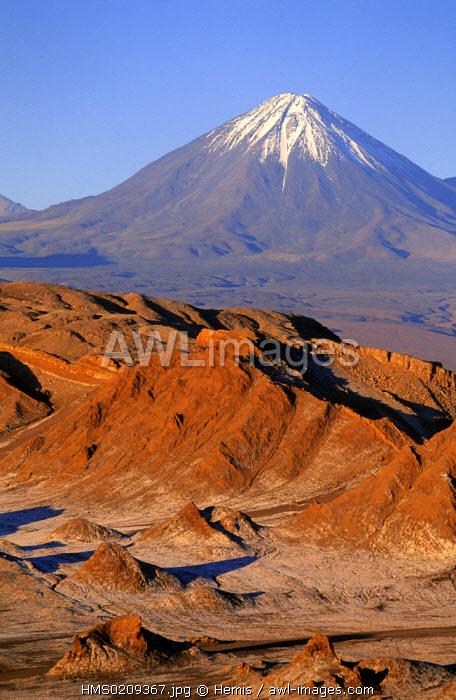 Chile, Antofagasta Region, San Pedro de Atamaca, the Moon Valley