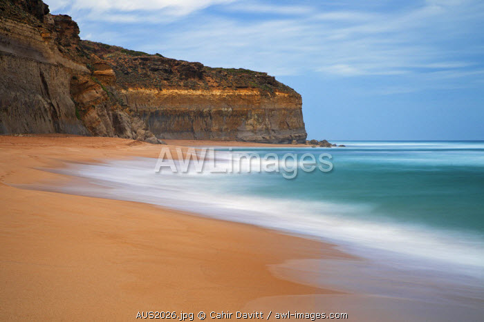 Gibsons Beach  and the 12 Apostles National Marine Park, Port Campbell National Park, Princetown, Victoria, Australia.
