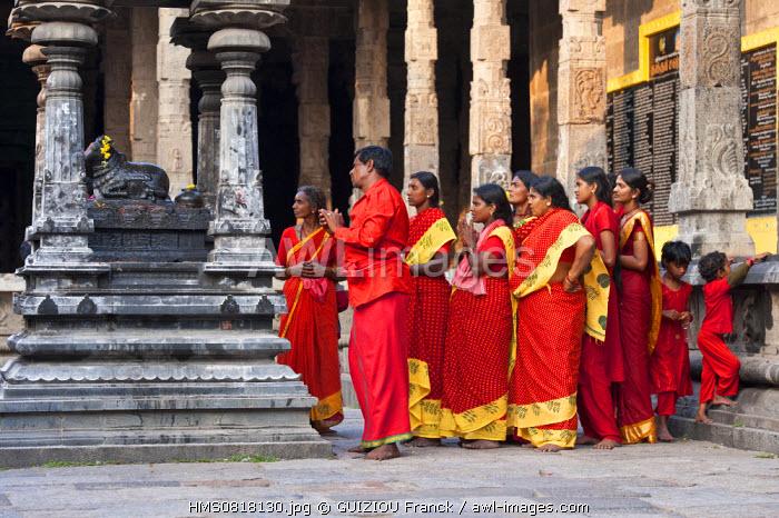 India, Tamil Nadu State, Kanchipuram, Ekambaranathar temple (or Ekambareswarar) dedicated to Shiva