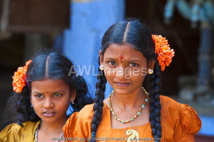 India, Tamil Nadu state, Tiruchirappalli (Trichy), the Sri Ranganathaswami temple, huge vaishnavite complex