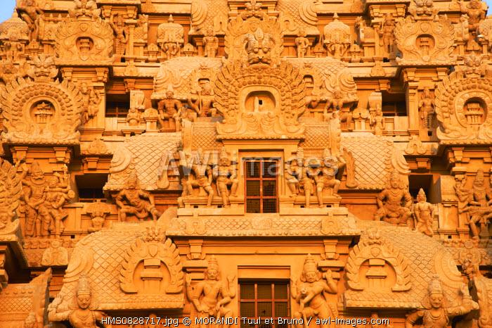 India, Tamil Nadu State, Thanjavur (Tanjore), Brihadisvara Temple, listed World Heritage by UNESCO