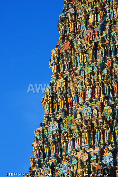 India, Tamil Nadu State, Madurai, Sri Meenakshi Temple