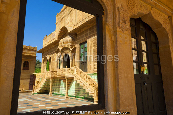 India, Rajasthan state, Jaisalmer, the Mandir Palace hotel