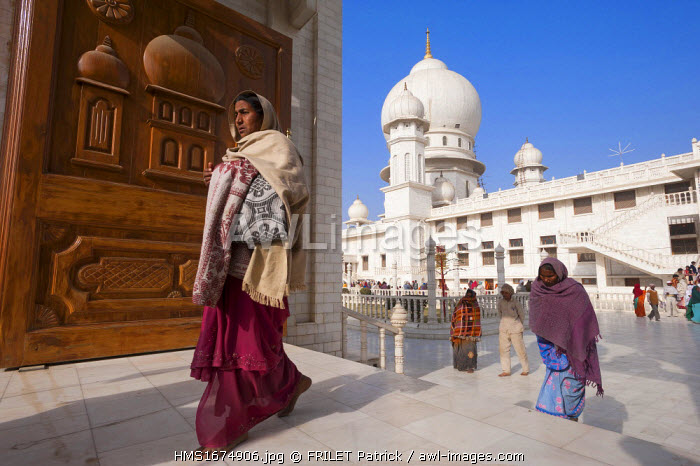 India, Uttar Pradesh state, Mathura, Hindu Pilgrimage to the ashram of Baba Jai ??Gurudev