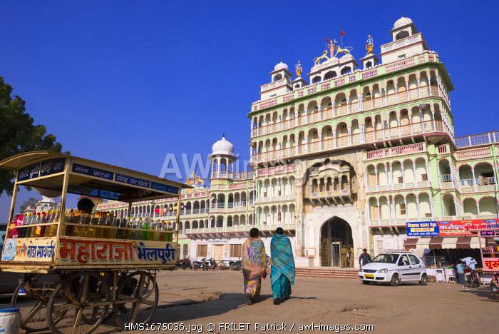 India, Rajasthan state, Shekhawati, Jhunjhunu, the Hindu temple of Rani Sati Mandir