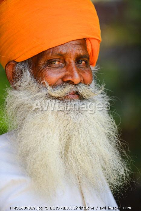 India, Rajasthan state, Pushkar, gate keeper