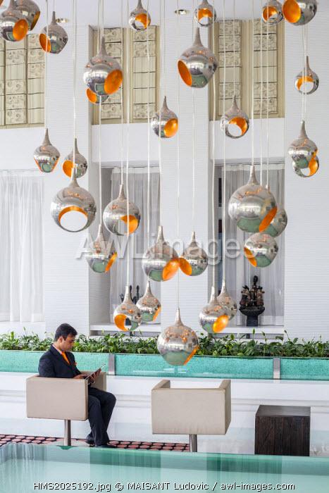 India, New Delhi, Gurgaon, Pullman Central Park, lobby