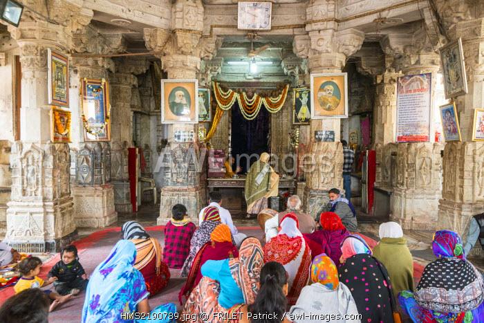 India, Rajasthan state, Udaipur, the Jagdish Temple is a hindu temple dedicated to lord Vishnu