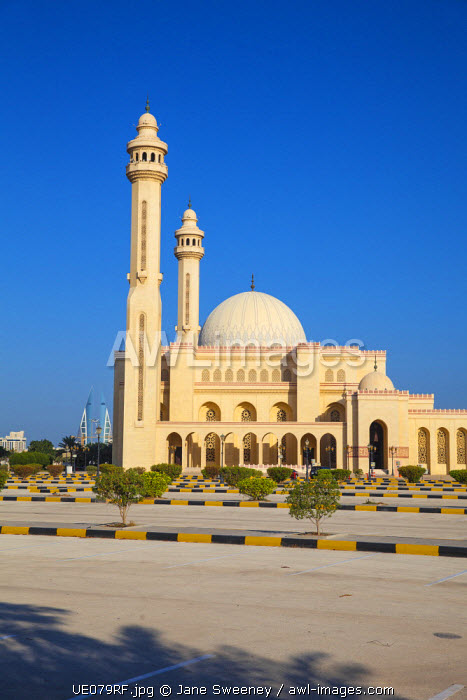 Bahrain, Manama, Juffair, Al Fateh Mosque - The Grand Mosque