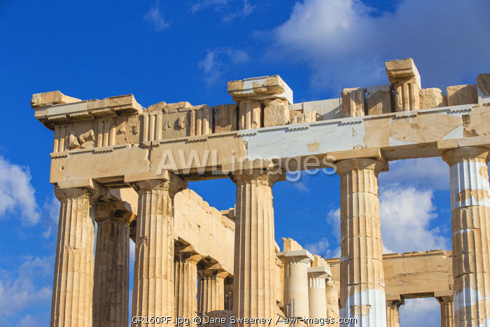 Greece, Attica, Athens, The Acropolis, The Parthenon