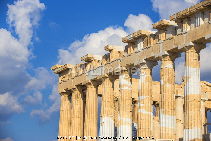 Greece, Attica, Athens, The Acropolis, The Parthenon
