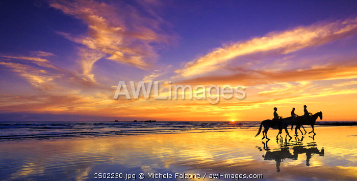 Costa Rica, Guanacaste, Nicoya Peninsula, Nosara, Playa Guiones