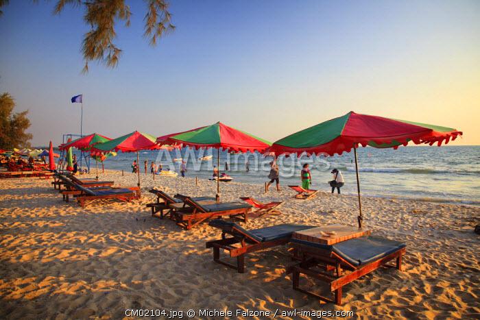 Cambodia, Sihanoukville, Serendipity Beach