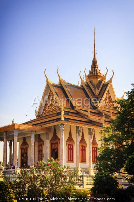 Cambodia, Phnom Penh, Royal Palace, Silver Pagoda