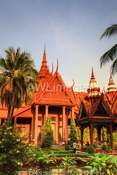 Cambodia, Phnom Penh, National Museum