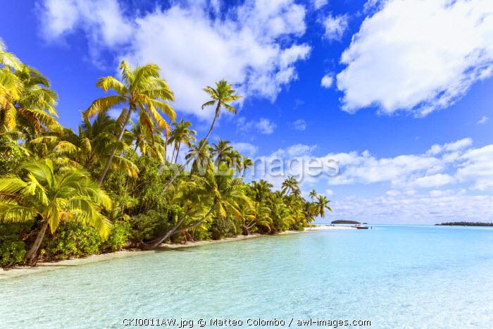 One Foot Island, Aitutaki, Cook Islands, Pacific Islands