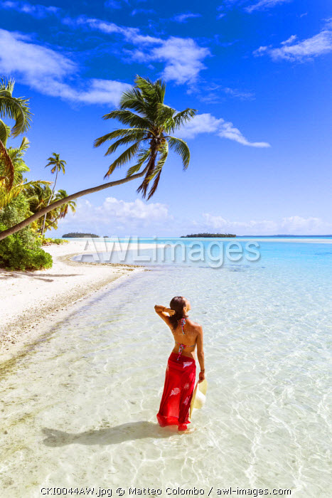 One Foot Island, Aitutaki, Cook Islands (MR)